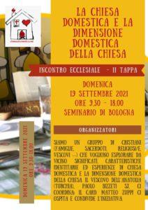 La Chiesa domestica e la dimensione domestica della Chiesa - II tappa